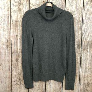 Banana Republic Cotton Gray Turtle neck Sweater M